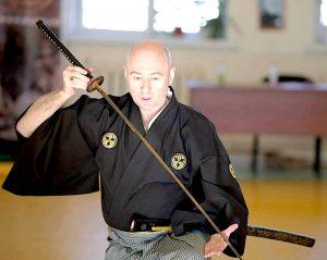 Семинар по искусству владения японским мечом