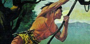 Тарзан не боится отпустить одну лиану и прыгнуть на другую, чтобы продолжать двигаться вперед